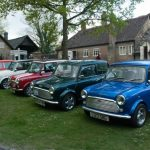 Minis at the Quarry at Amberley Museum & Heritage Centre