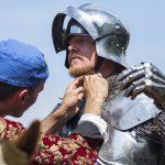 Joust in time: world's longest jousting tournament begin