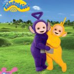 Tinky Winky and Laa-Laa from the Teletubbies